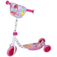 Скутер детский лицензионный Winx 3-х колесный