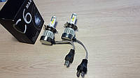 Комплект LED ламп H4 12v C6max  HeadLight