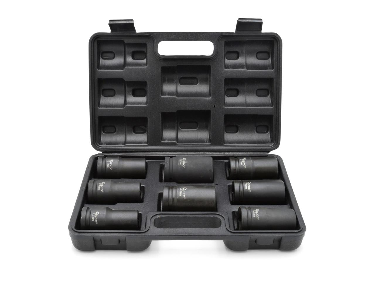 Набор ударных головок 3/4 «17-32mm, Geko