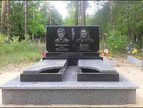 Гранитный памятник для двоих (Образец 734) 2