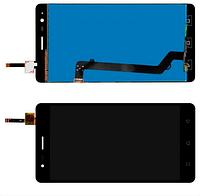 Дисплей модуль Lenovo K5 Note Vibe/ A7020 в зборі з тачскріном, чорний