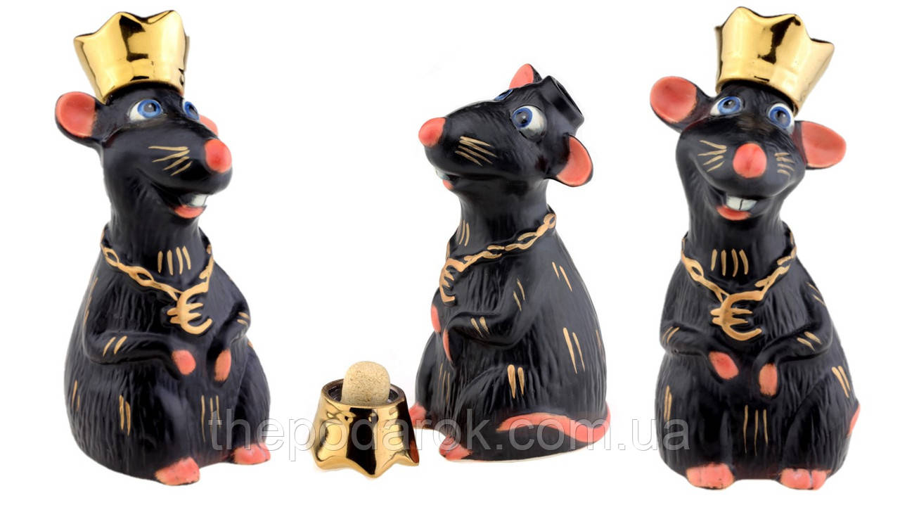 Крыса Царь графин-штоф 200 мл
