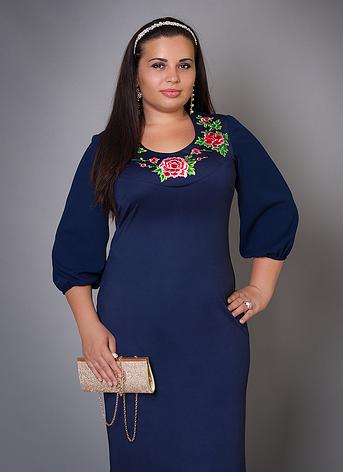Платье с вышитыми цветами, фото 2