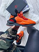 Мужские кроссовки Adidas Y-3 Kaiwa Icon Orange Black