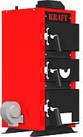КОТЕЛ ОПАЛЮВАЛЬНИЙ ТВЕРДОПАЛИВНИЙ ТИПУ  КТЕ (модель E) зі сталевим теплообмінником 20 кВт.