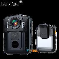 Нагрудный видеорегистратор BOBLOV WN9 2K 1296P IP54 с мощным акумулятором и большим функционалом