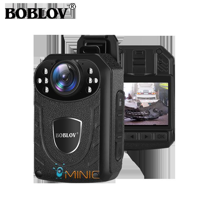 Камера для охраны BOBLOV KJ21 2K 1296P мини с мощным аккумулятором и большим функционалом