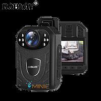 Нагрудный видеорегистратор BOBLOV KJ21 2K 1296P мини с мощным аккумулятором и большим функционалом