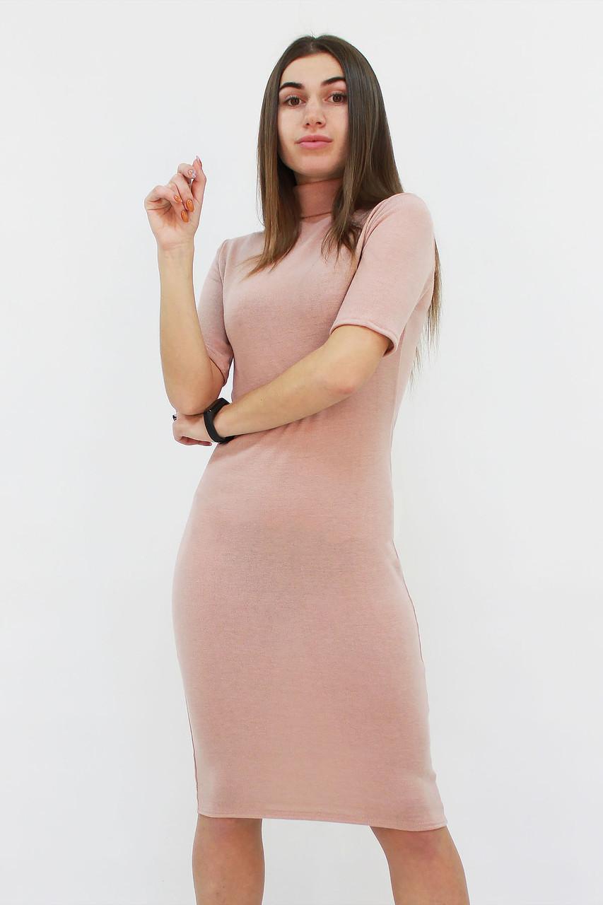 S, M, L, XL / Тепле та зручне ангорове плаття Florida, бежевий