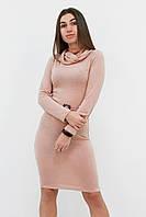 S (42-44) / Тепле класичне плаття Rebeka, бежевий