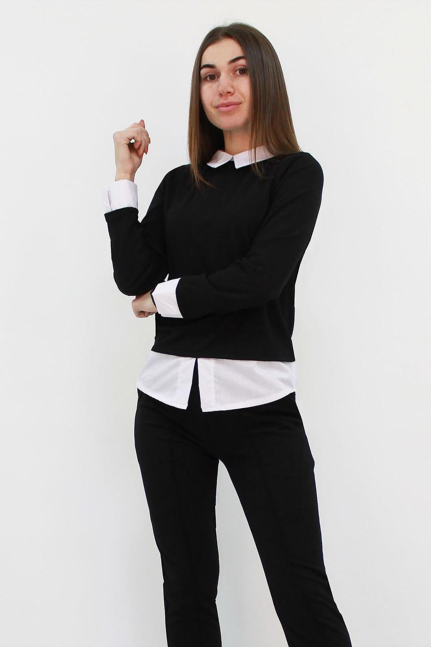 S, M, L | Молодіжний класичний костюм Nevil, чорний