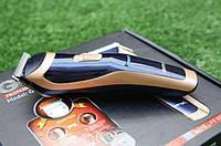 Машинка для стрижки волос электробритва триммер для окантовки бороды GEMEI GM-6005 аккумуляторная ORIGINAL