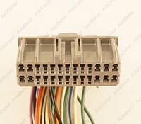 Разъем электрический 26-и контактный (42-16) б/у