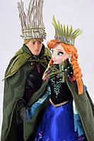 Набор дисней кукла Анна и Кристофф Холодное Сердце с троллями