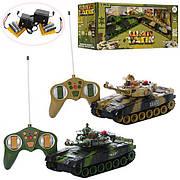 Танковый бой на радиоуправлении War Tank 9993-2PC ( 2 танка, свет, звук )