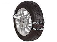 Цепи противоскольжения на колеса, цепи браслеты размер NLE-34, противобуксовочные цепи-хомуты.