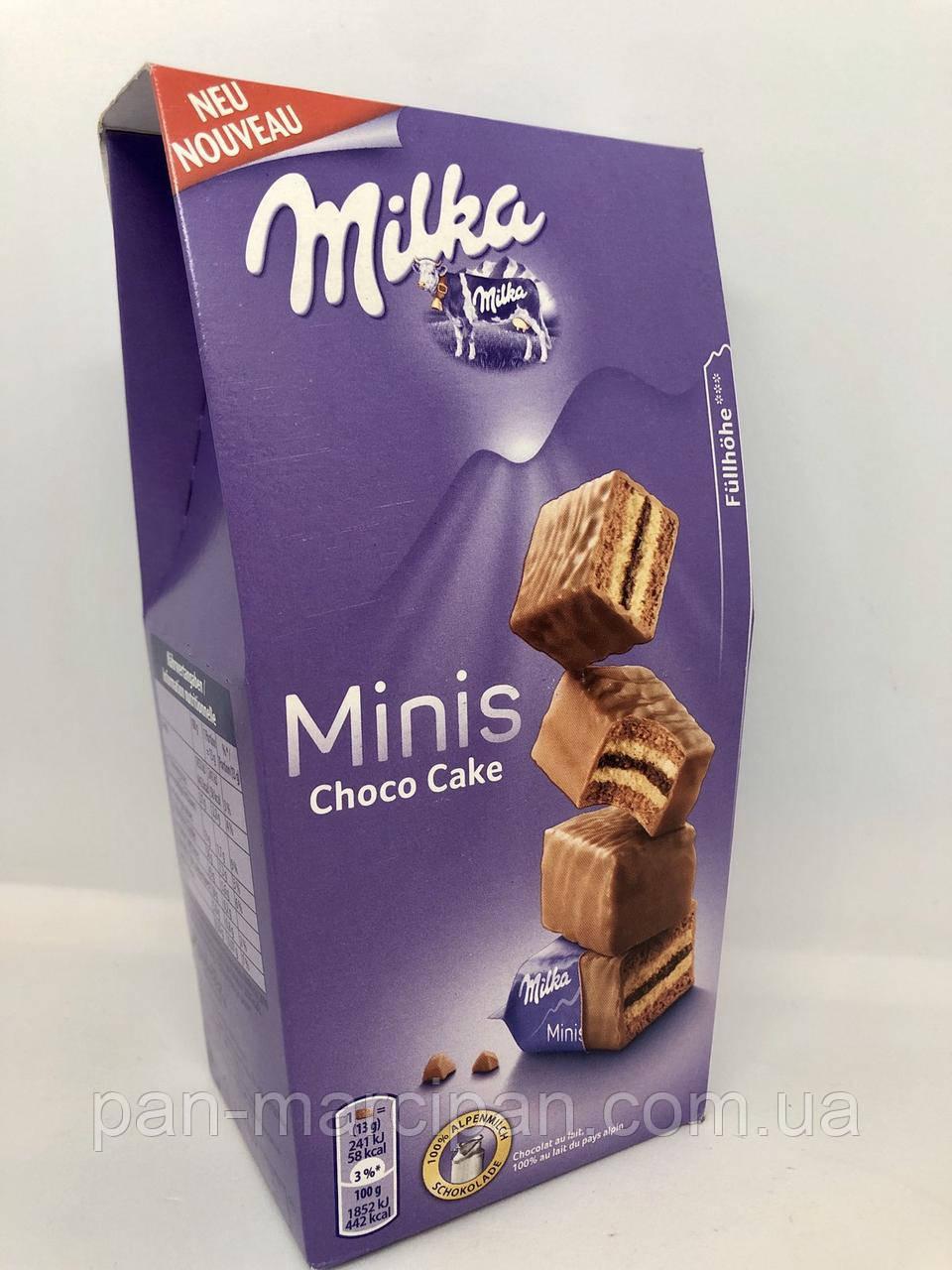 Печиво Milka Minis Choco Cake 117г