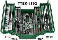 Набор инструментов 111 предметов Hans (TTB-111G)
