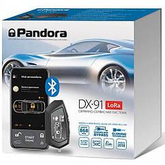 Автосигнализация Pandora DX-91 LoRa v 2.9 BT (Брелок-метка BT-760 black)