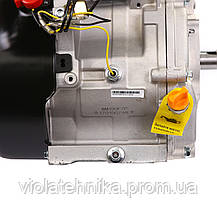 Двигатель бензиновый Weima WM190F-S New (шпонка, 25 мм, 16 л.с., ручной стартер), фото 3