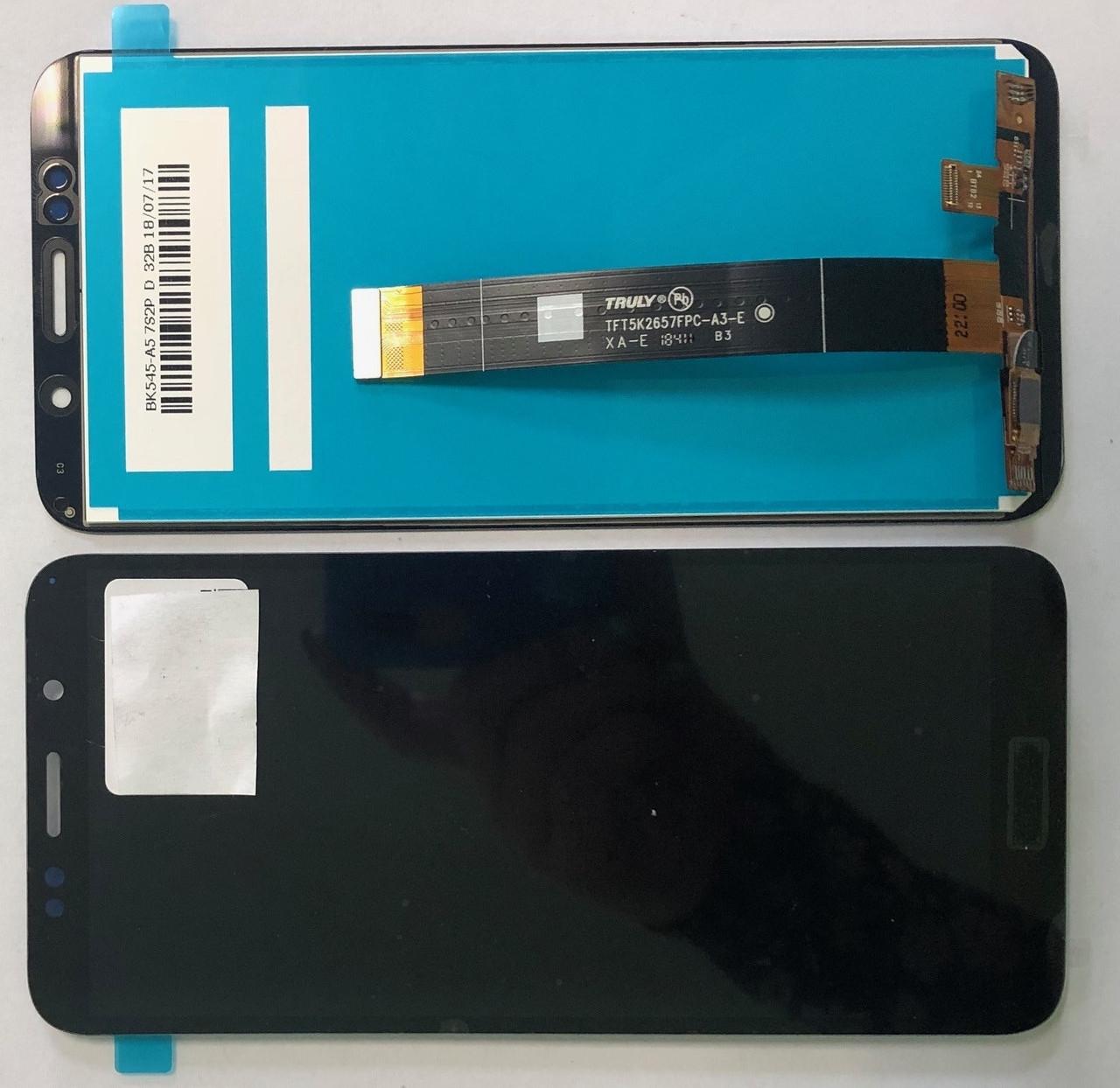 Дисплей для Huawei Y5 2018 / Y5 Pro Prime 2018 DRA-L21 модуль в сборе с тачскрином, черный