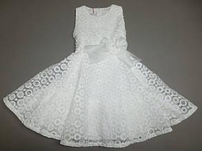 Дитяче плаття для дівчинки Ошатна одяг для дівчаток, Одяг для дівчаток 0-2 Alice Pi Італія 1011 Білий