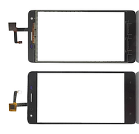 Oukitel K6000 сенсорний екран, тачскрін чорний