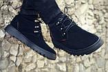 Ботинки хайтопы мужские зимние кожаные, фото 2