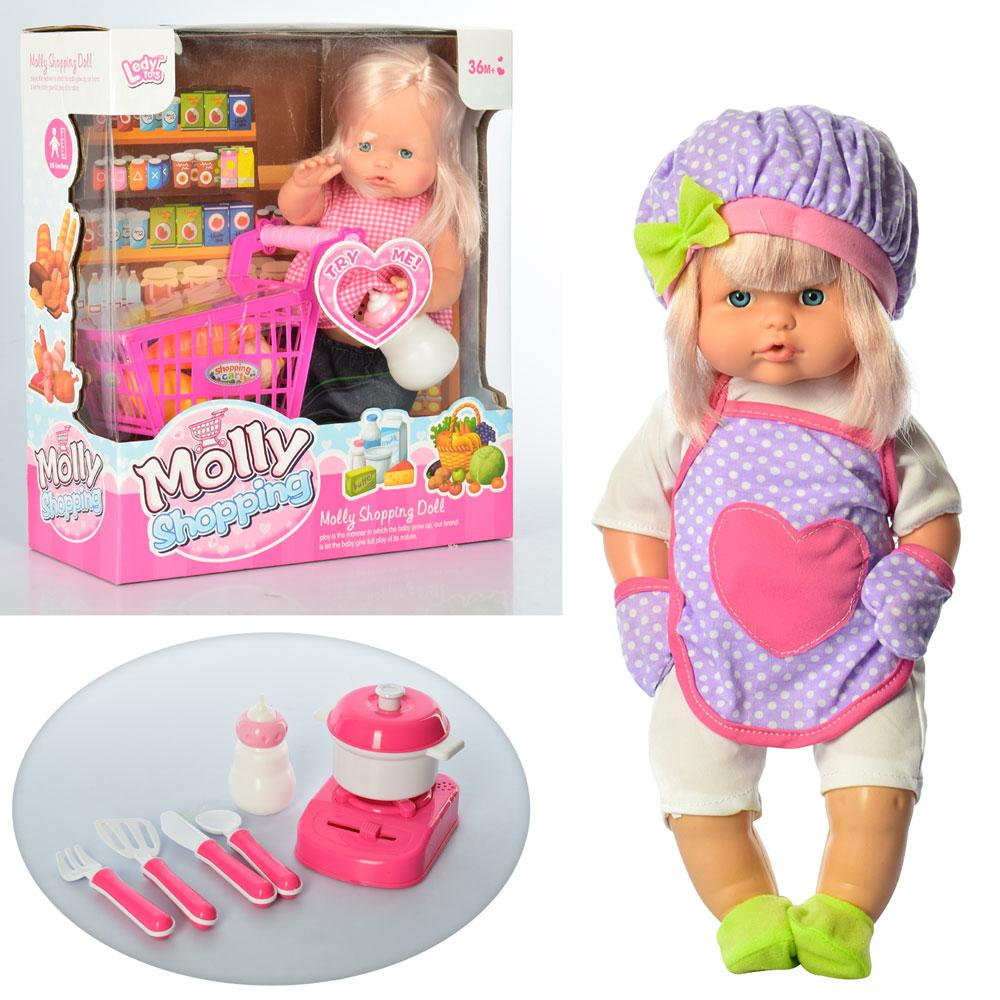 Куколка Molly LD68011A-C интерактивная звуковые эффекты