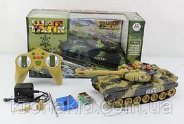 Танк  на радиоуправлении War Tank 9993 brown / green ( танк, свет, звук )