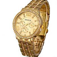 Женские часы Geneva Golden - гарантия 6 месяцев