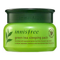 Увлажняющая ночная маска для лица Innisfree Green Tea Pure Sleeping Pack