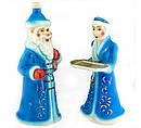 Подарочный набор Дед мороз и снегурочка, 8 предметов штоф 2,25л, фото 2
