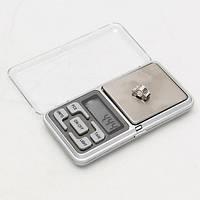 Весы ювелирные электронные карманные 500 г х 0.1 г