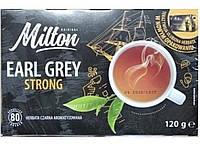 Чай Milton Earl Grey Strong 80 пакетов