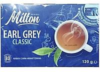 Чай Milton Earl Grey Classic 80 пакетов