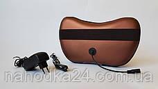 Массажная Подушка Massage Pillow с Инфракрасным Подогревом Для Шеи Спины Ног, фото 2