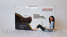 Массажная Подушка Massage Pillow с Инфракрасным Подогревом Для Шеи Спины Ног, фото 3