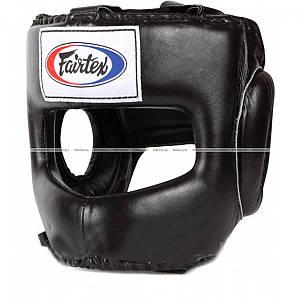Боксерський шолом Fairtex HG4 Full Face Headgear Black