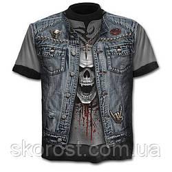 Мужская футболка Джинсовая куртка S, M-L, L, XL