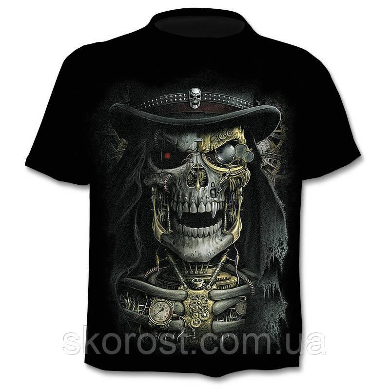 Мужская футболка Steampunk Skull L - ХL, XL - XXL