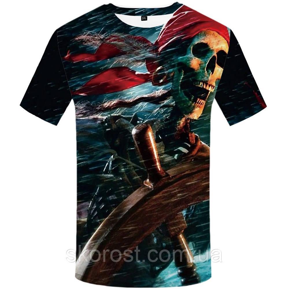 Мужская футболка Pirate of the caribbean