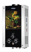 Газовая колонка ДИОН JSD 10 дисплей (подсолнух)