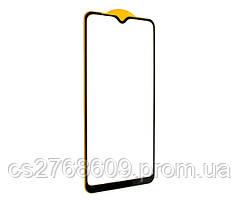 Защитное стекло / Захисне скло Samsung A105, A10 2019, A107, A10s 2019, M105, M10 2019 чорний 11D без упаковки