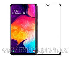 Защитное стекло / Захисне скло Samsung A205, A20 2019 чорний 11D без упаковки