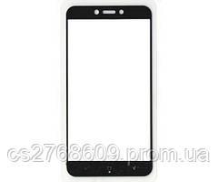 Защитное стекло / Захисне скло Xiaomi Redmi 4x чорний 11D без упаковки