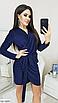 """Нарядное женское платье из люрекса на запах """"Indiana"""", фото 4"""