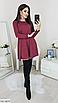 """Трапециевидное женское платье из ангоры с люрексом """"Louisiana"""", фото 2"""