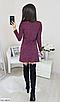 """Трапециевидное женское платье из ангоры с люрексом """"Louisiana"""", фото 5"""