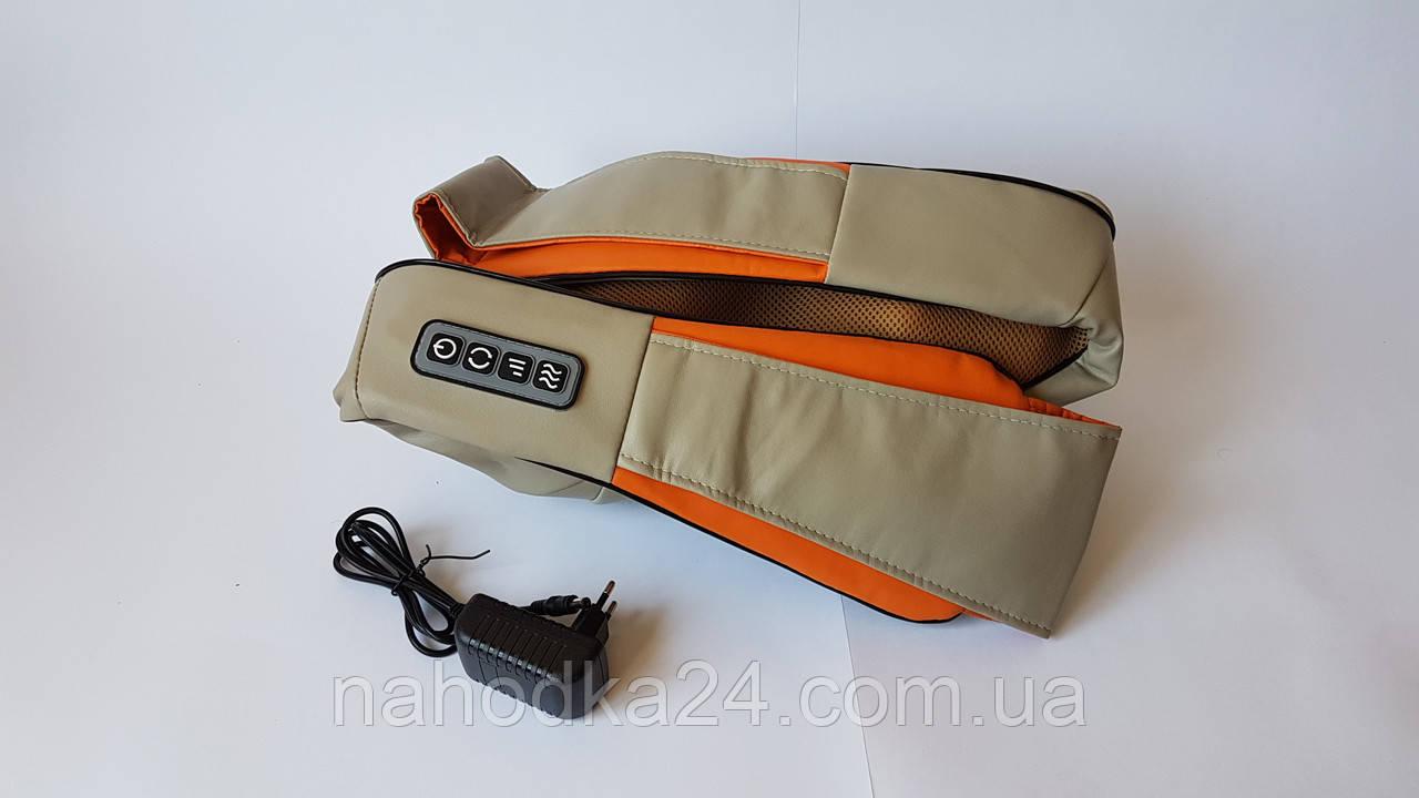 Массажёр роликовый электрический для спины и шеи Massager of Neck Kneading